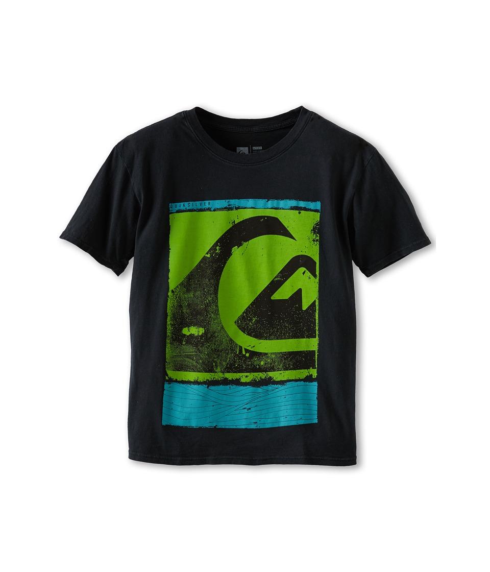 Quiksilver Kids Caption Tee Boys T Shirt (Black)