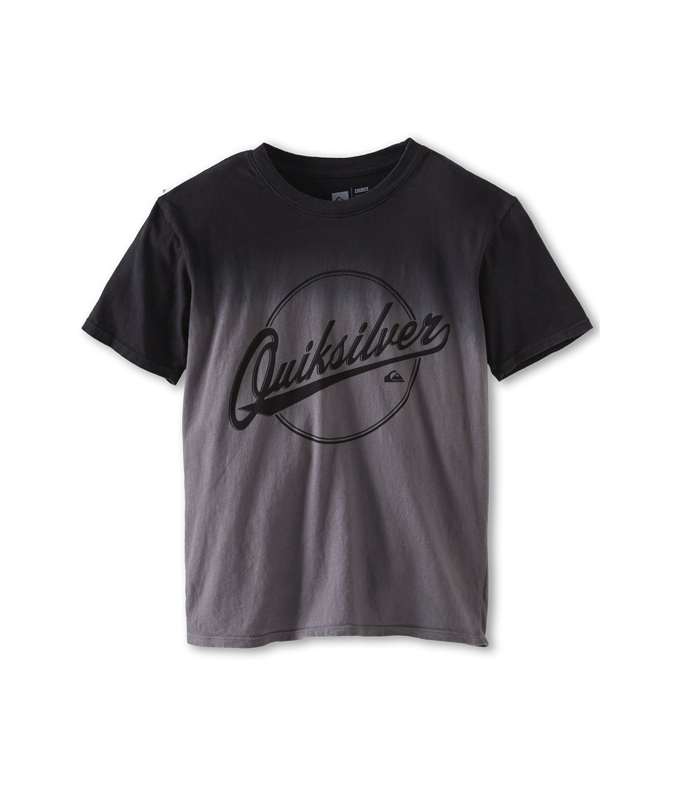 Quiksilver Kids Hooked Tee Boys Short Sleeve Pullover (Black)