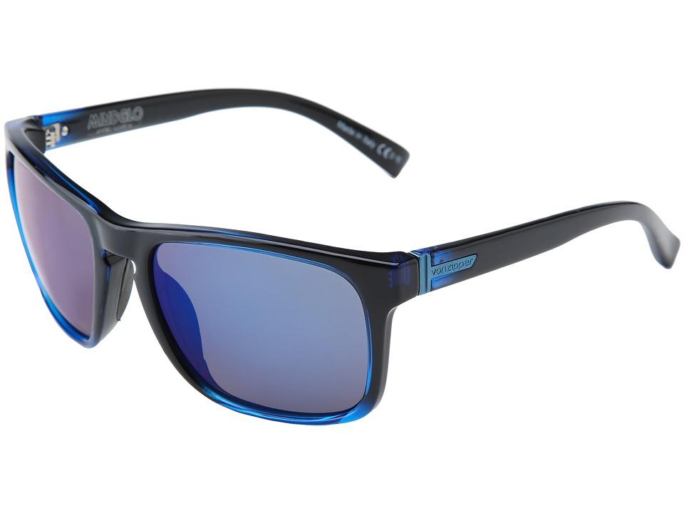 VonZipper - Lomax '13 (Mind Glo Blue/Astro Glo) Sport Sunglasses