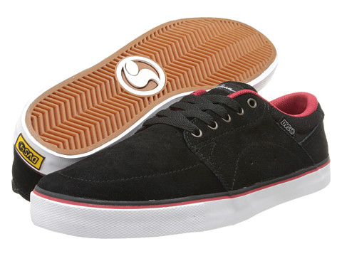 DVS Shoe Company - Jarvis (Black Suede Weeman) Men's Skate Shoes