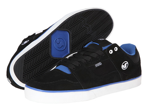 DVS Shoe Company - Evade (Black Royal Suede) Men's Skate Shoes