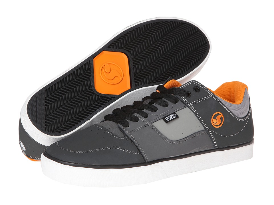 DVS Shoe Company - Evade (Grey Nubuck/Deegan) Men's Skate Shoes