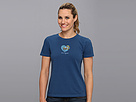 Life is good Heart Wave Crusher Tee