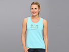 Life is good Here Comes The Sun Crusher Sleeveless Scoop Tank