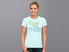 Life is good Creamy Tee (Soft Blue)