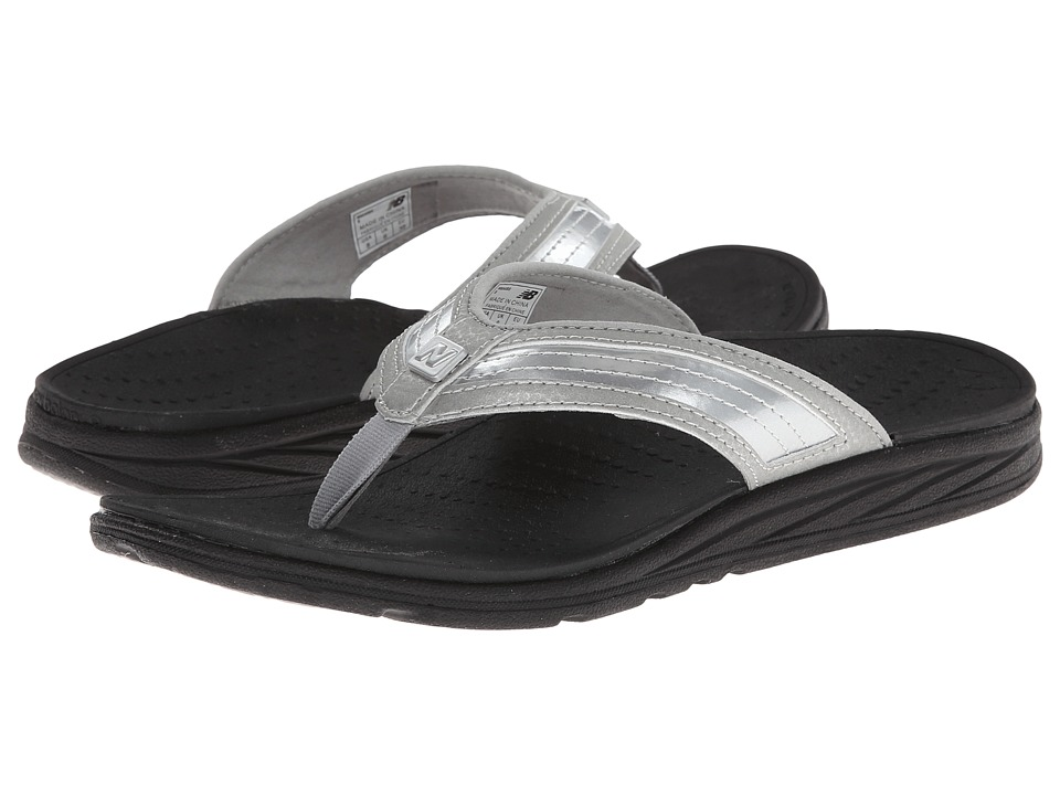 New Balance - RevitalignRX Flourish Thong W6046 (Black/Silver) Women's Shoes