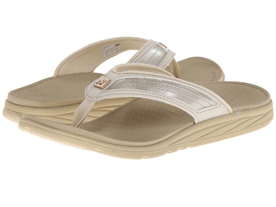 New Balance - RevitalignRX Flourish Thong W6046 (Beige) Women's Shoes