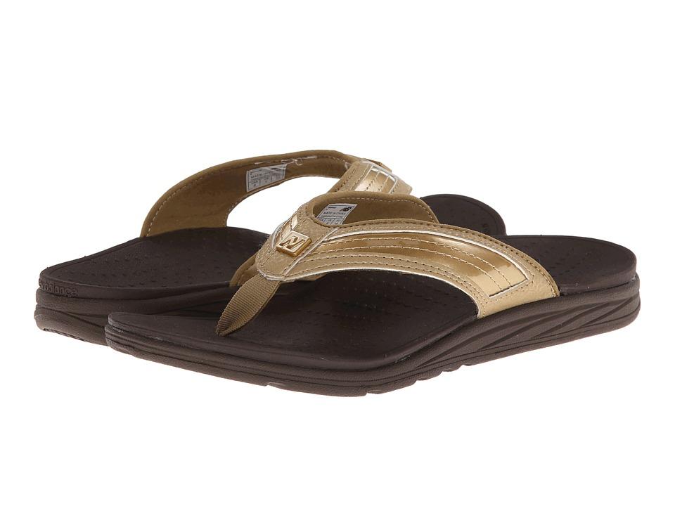 New Balance - RevitalignRX Flourish Thong W6046 (Gold) Women's Shoes