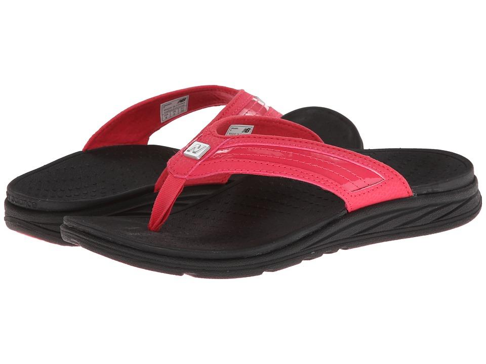 New Balance - RevitalignRX Flourish Thong W6046 (Black/Pink) Women's Shoes