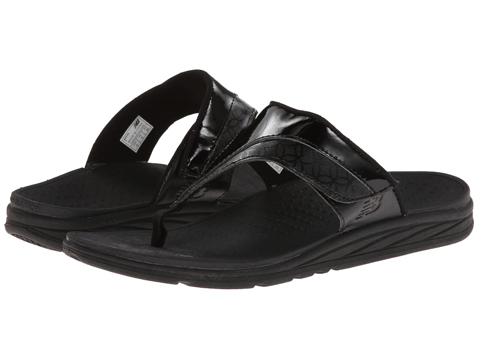 New Balance - RevitalignRX Thrive Adjustable T-Strap W6057 (Black) Women's Shoes
