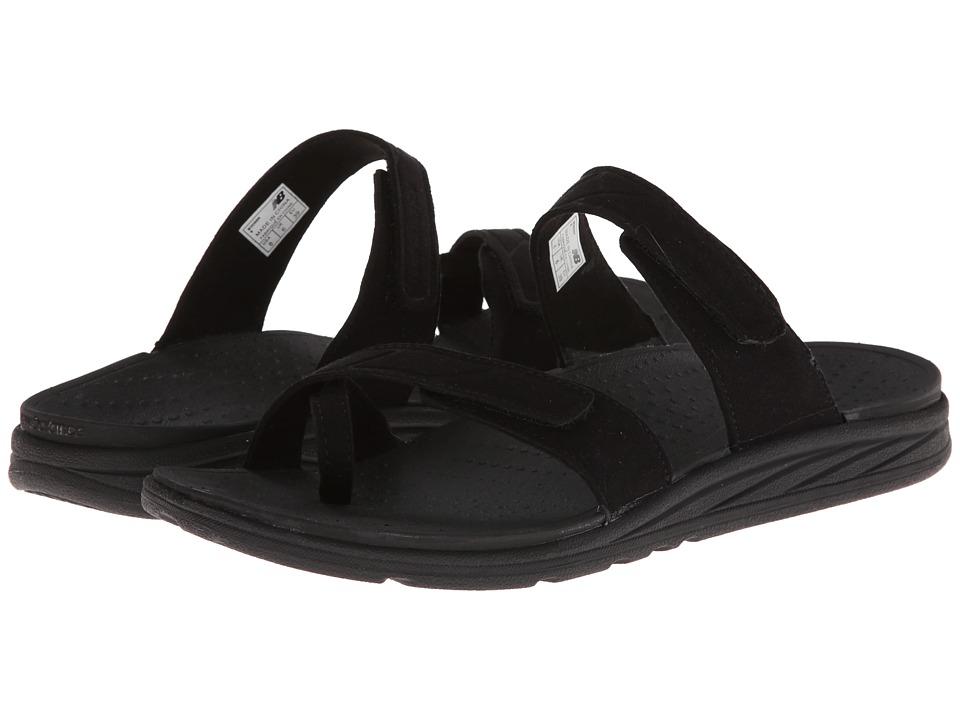 New Balance - RevitalignRX Refresh Slide W3056 (Black) Women's Shoes