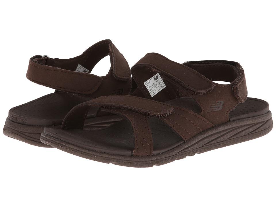 New Balance - RevitalignRX Inspire Sandal W3054 (Brown) Women's Shoes