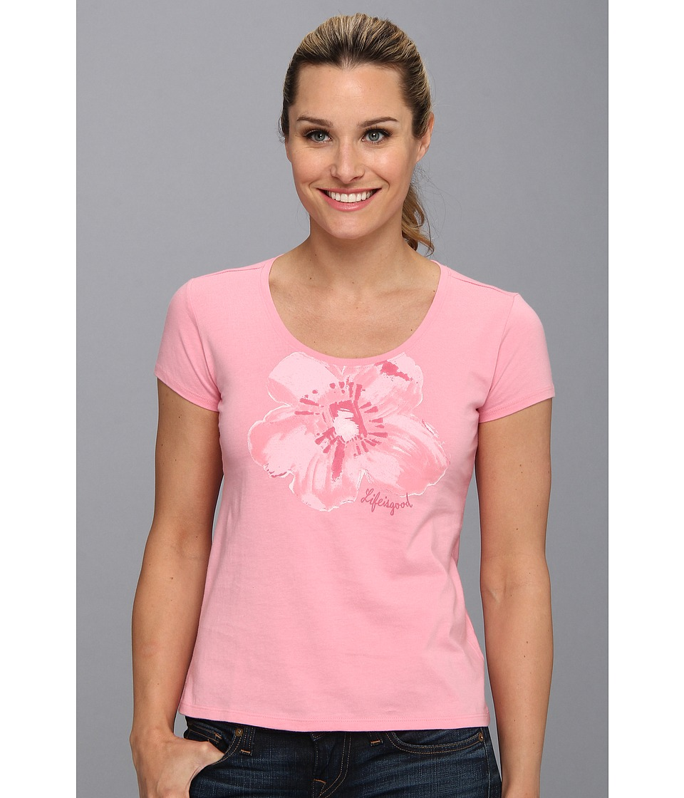 Life is good - Siesta Scoop Sleep Tee (Blush Pink) Women's T Shirt