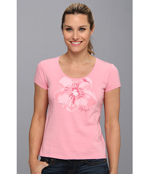 Life is good - Siesta Scoop Sleep Tee (Blush Pink) Women