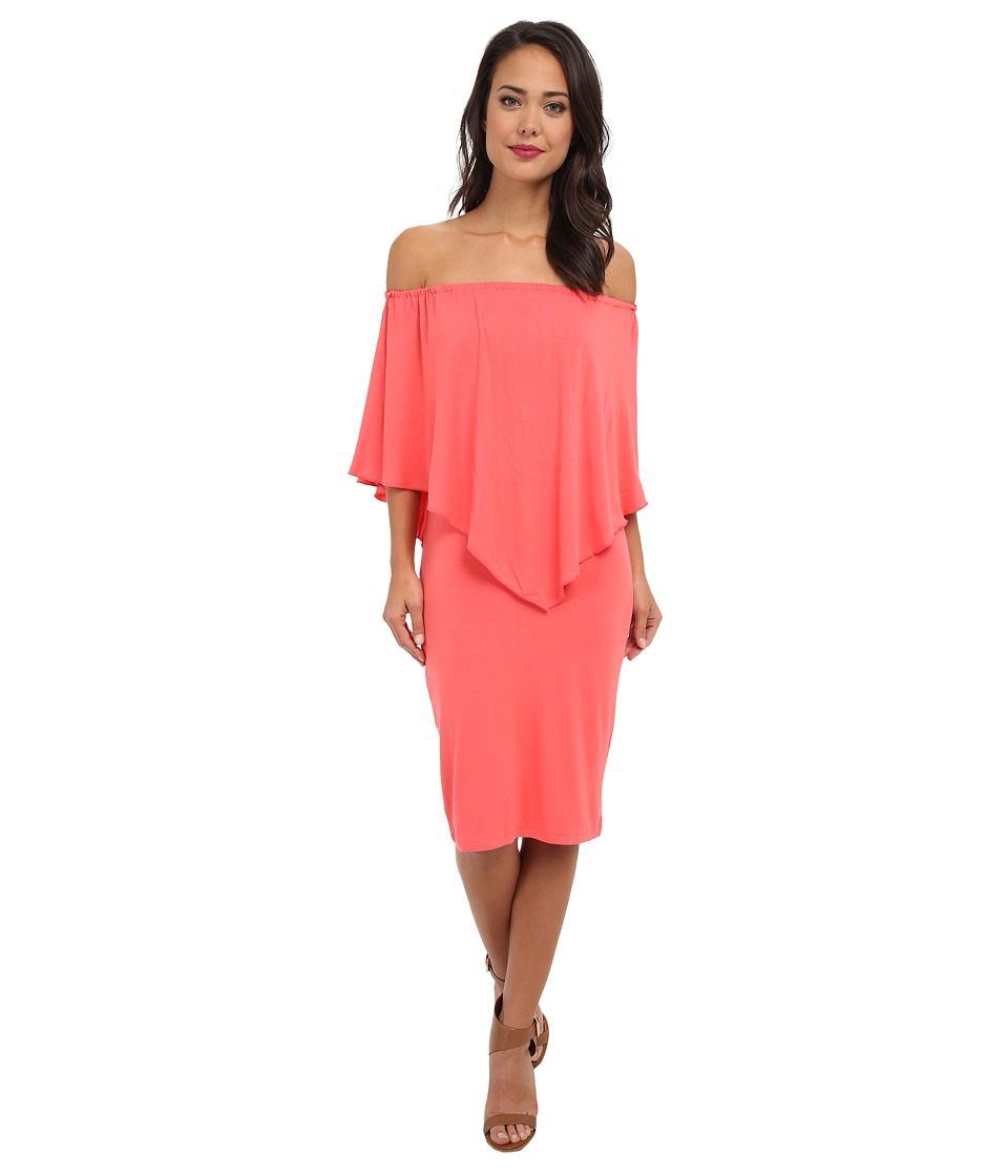 Culture Phit - Nalah Dress (Coral) Women's Dress