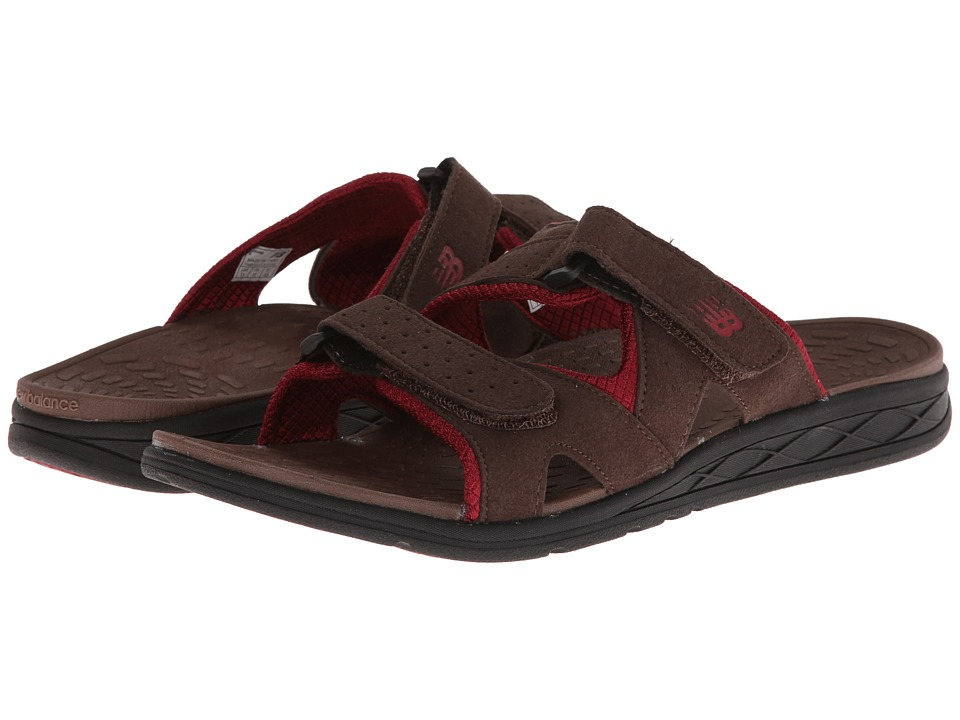 New Balance - RevitalignRX Triumph Slide M3048 (Brown) Men's Shoes
