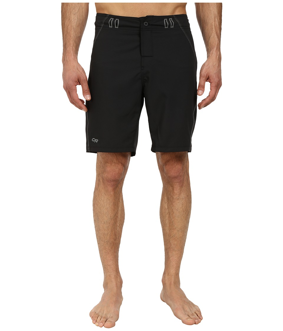 Outdoor Research Backcountry Boardshorts (Black/Pewter) Men