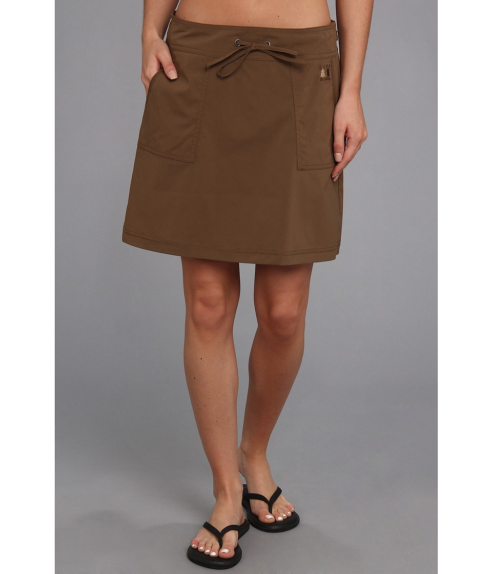 Life is good Scout Skirt (Java Brown) Women