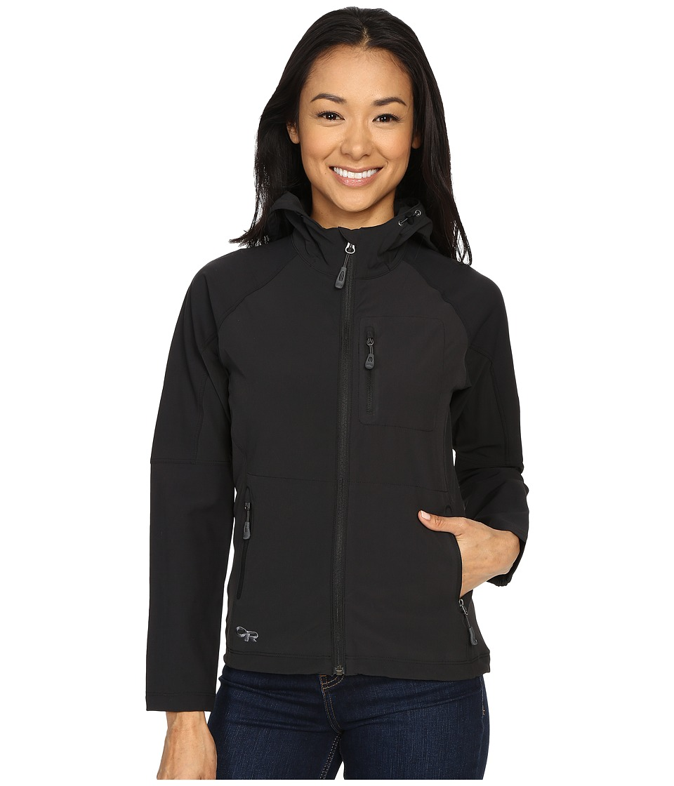 Outdoor Research - Ferrosi Hoody (Black) Women's Sweatshirt