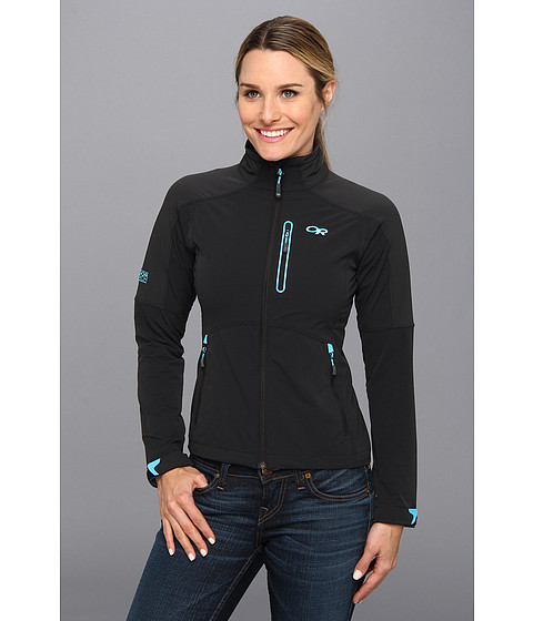 Outdoor Research - Circuit Jacket (Black/Rio) Women's Jacket