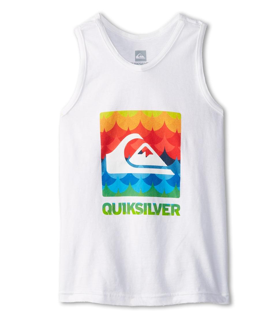 Quiksilver Kids Charade Tank Boys Sleeveless (White)