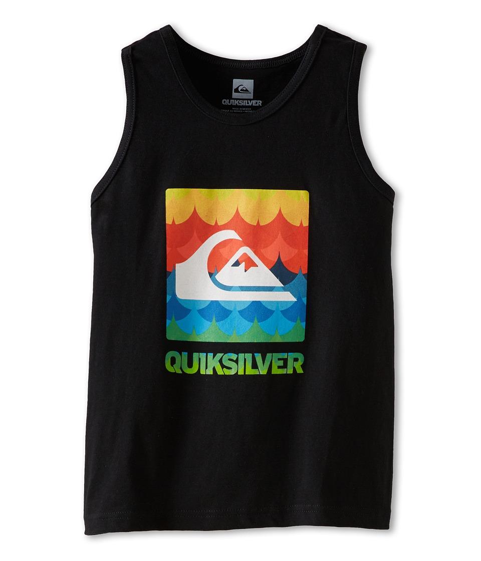 Quiksilver Kids Charade Tank Boys Sleeveless (Black)