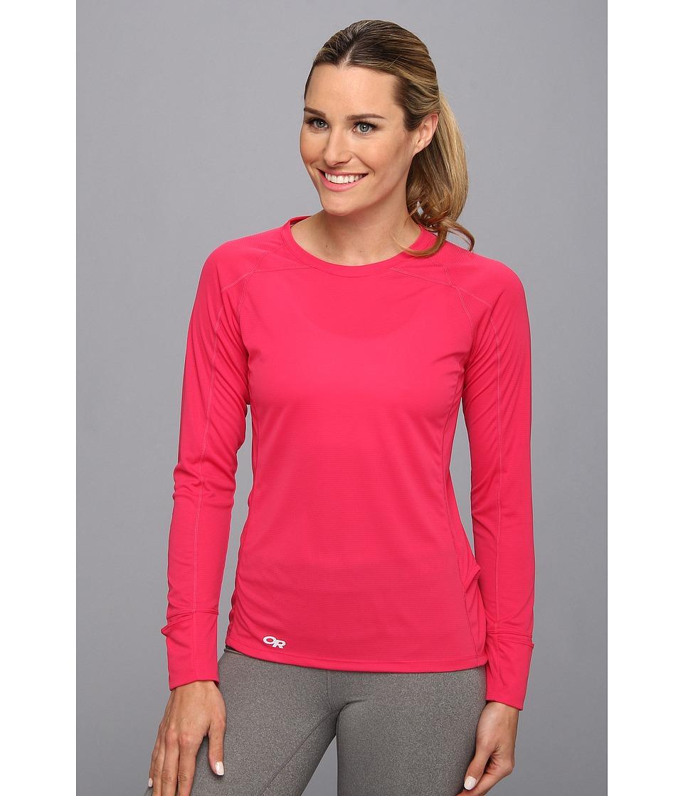 Outdoor Research - Echo L/S Tee (Desert Sunrise/Paradise) Women's T Shirt