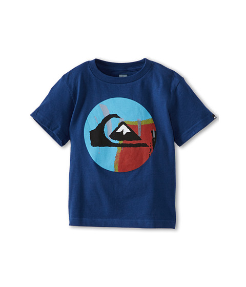 Quiksilver Kids - Reanimate Tee (Infant) (Twilight Blue) Boy's T Shirt