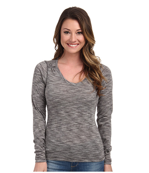 Outdoor Research - Flyway L/S Shirt (Pewter/Alloy) Women's Long Sleeve Button Up