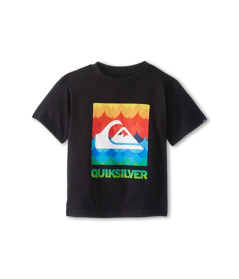 Quiksilver Kids Charade Tee Boys T Shirt (Black)