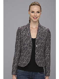 SALE! $59.99 - Save $79 on Calvin Klein Tweed Two Button Jacket (Black Night Charcoal) Apparel - 56.84% OFF $139.00