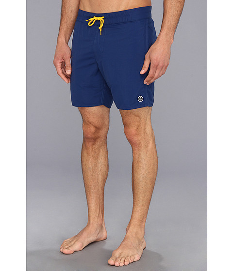 Volcom - Mod-City Fun Mental Boardshort (Navy) Men's Swimwear