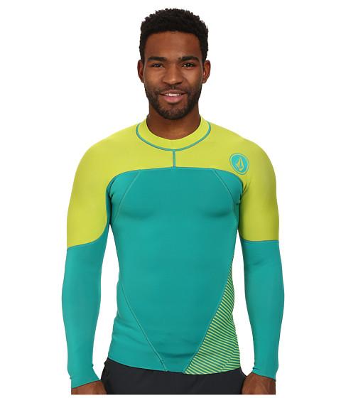 Volcom - Stone L/S Jacket (Sea Swell Green) Men's T Shirt