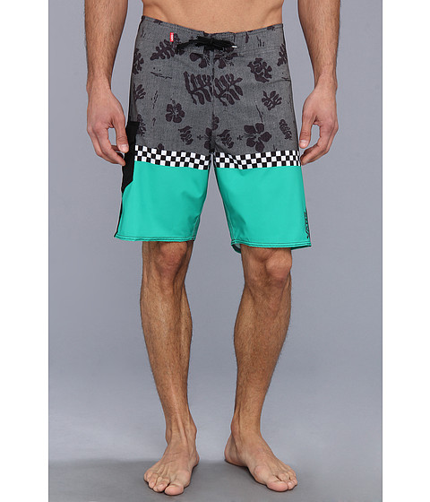 Vans - Off The Wall 20 Boardshort (Simply Green) Men's Swimwear