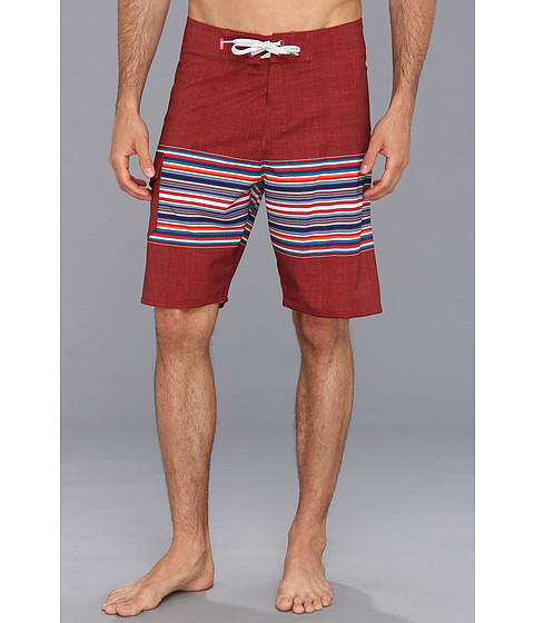 Vans - Off The Wall Boardshort 21 (Ruby Wine) Men's Swimwear