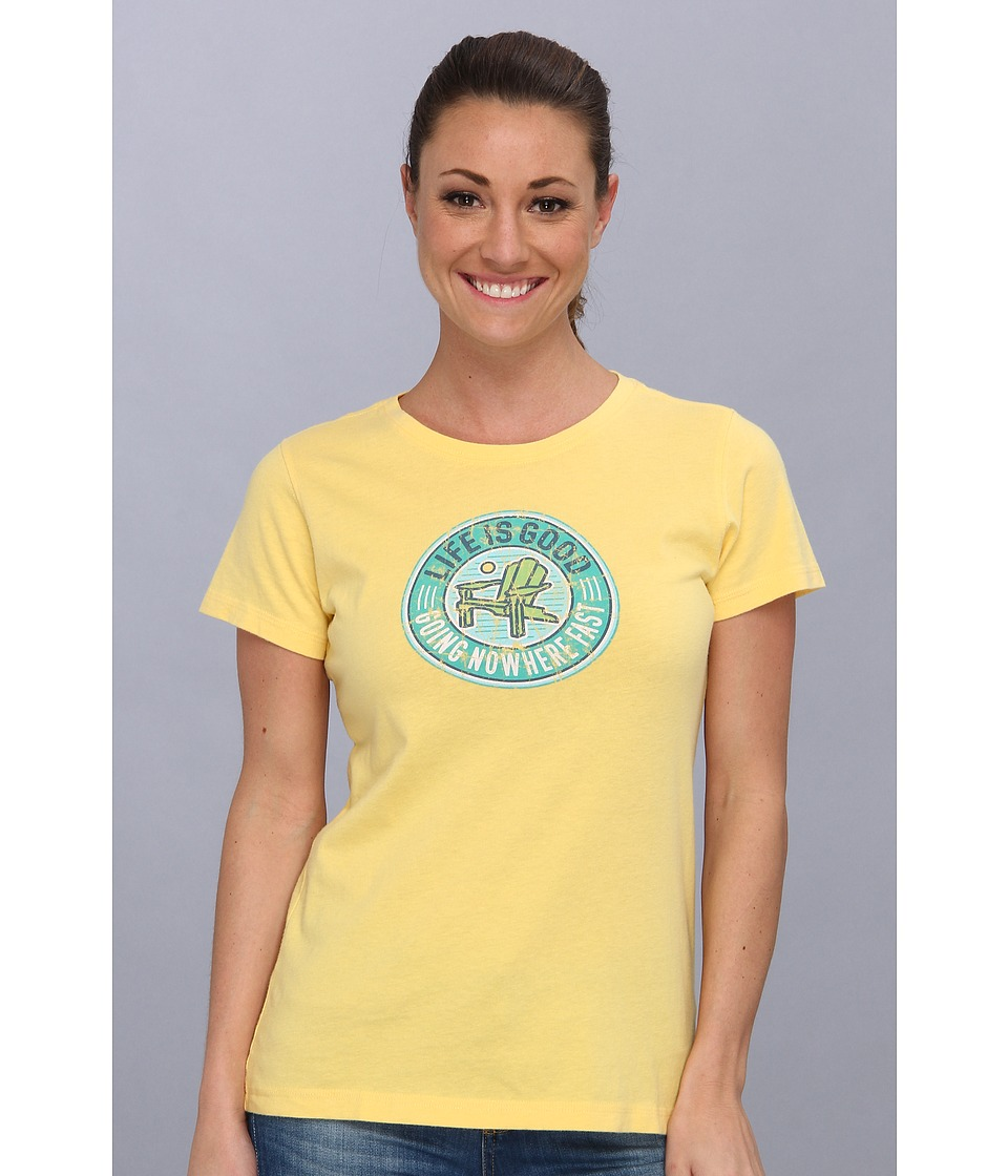 Life is good - Creamy Tee (Canary Yellow) Women's T Shirt