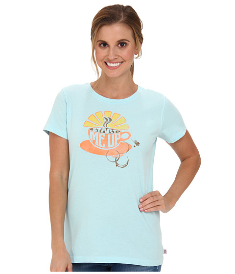 Life is good - Creamy Tee (Soft Blue 3) Women