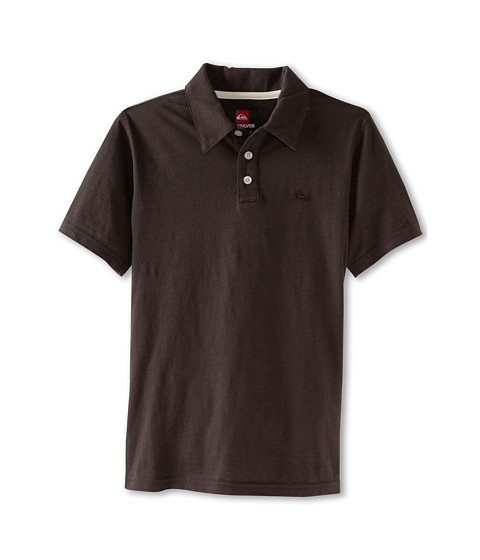 Quiksilver Kids - Get It Polo (Big Kids) (Vintage Black) Boy