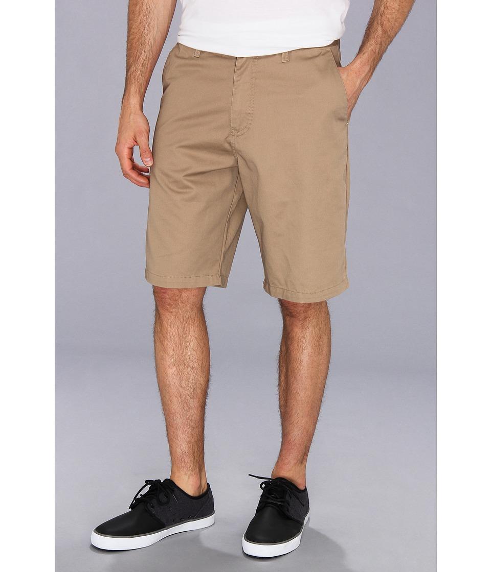Volcom - Frickin Chino Short (Khaki) Men's Shorts
