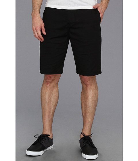 Volcom - Frickin Modern Stretch Short (Black) Men's Shorts