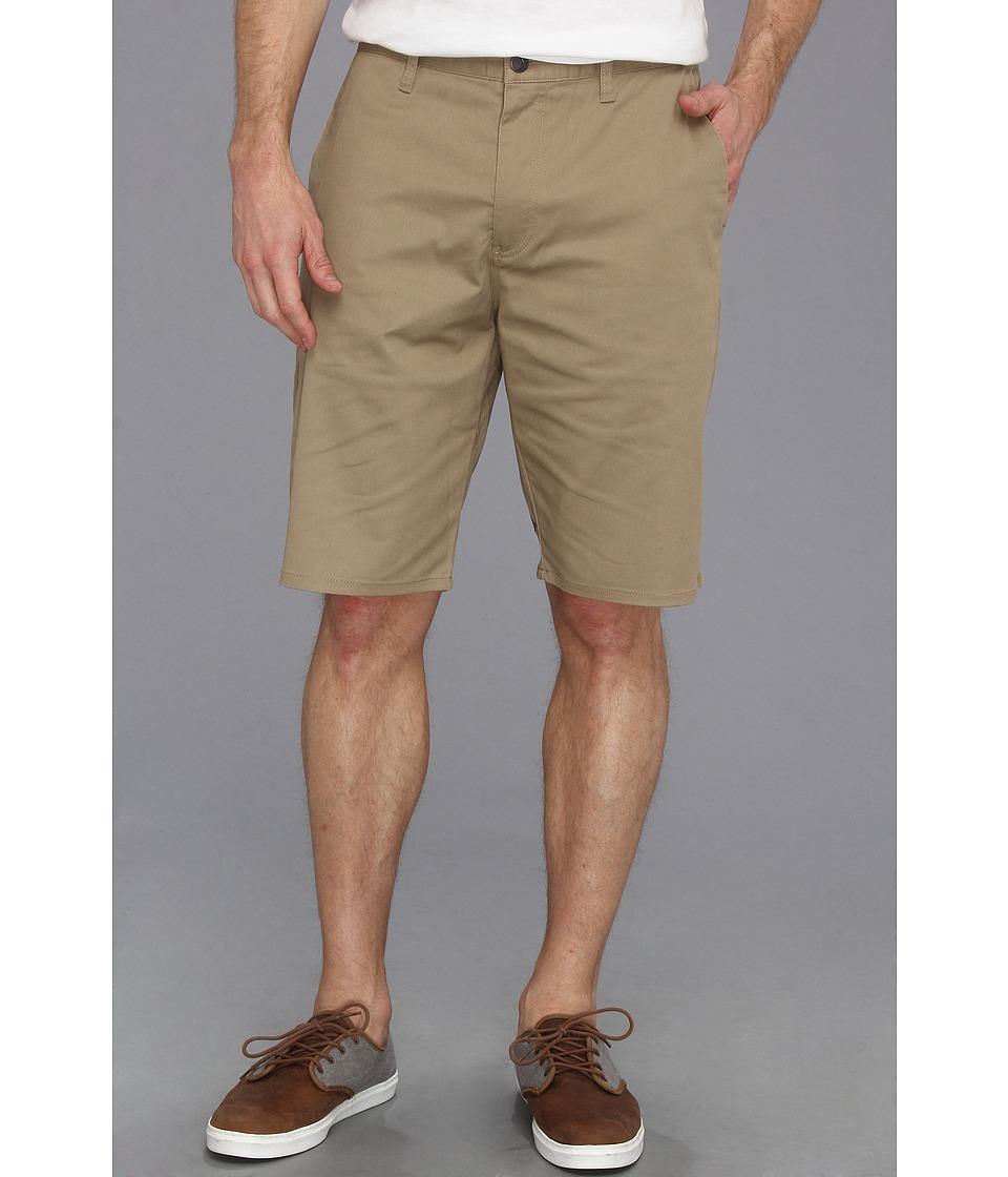 Volcom - Frickin Modern Stretch Short (Khaki) Men's Shorts