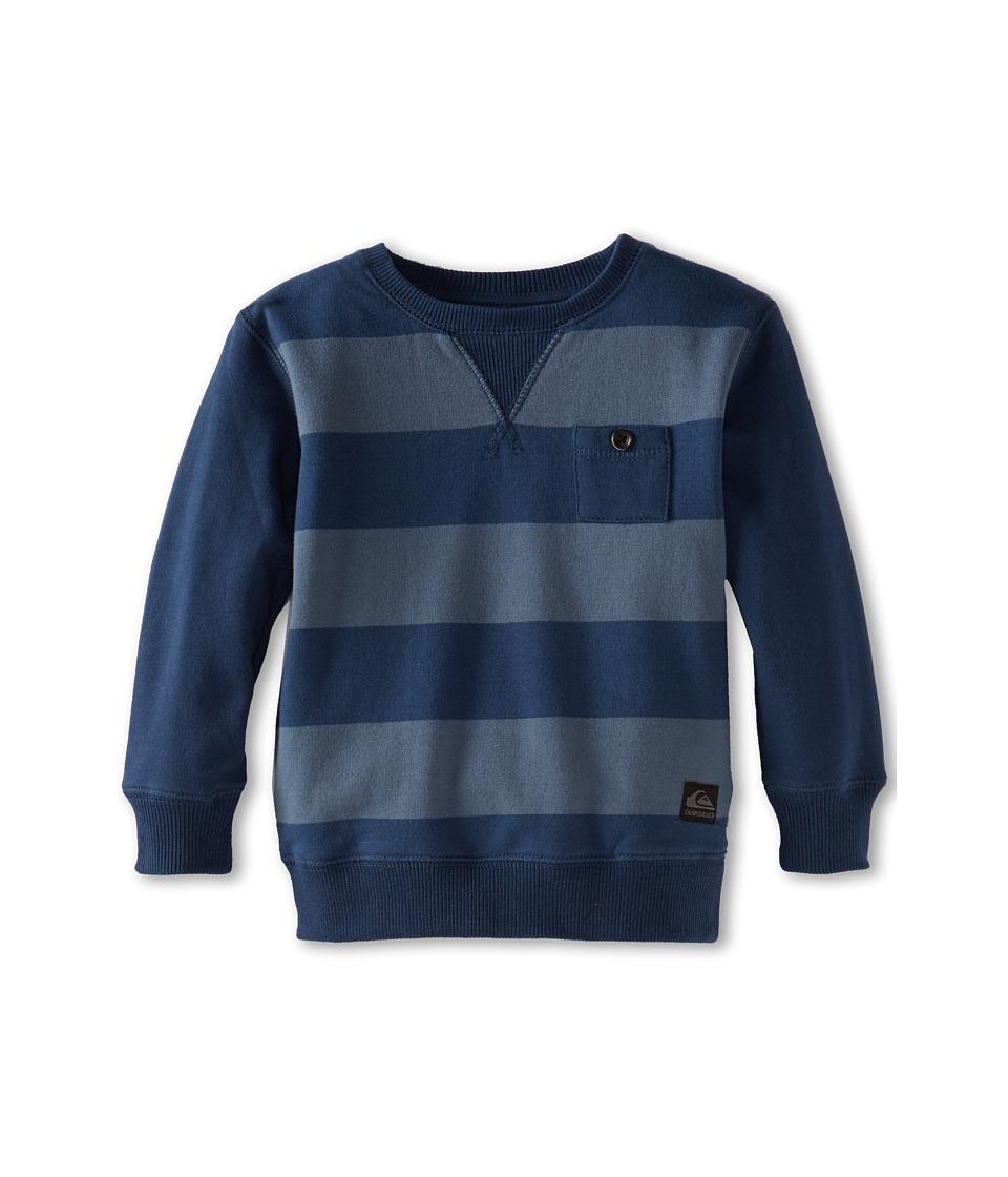Quiksilver Kids Custer Fleece Boys Sweatshirt (Navy)