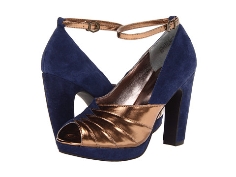 Seychelles - Come Get Me (Navy/Copper) Women