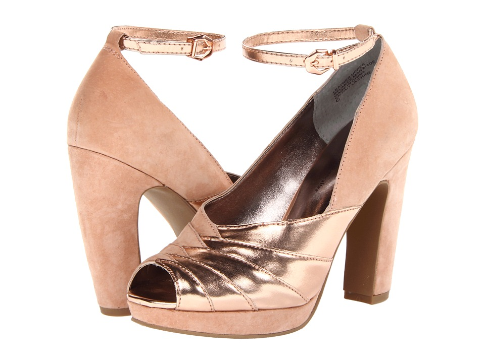 Seychelles - Come Get Me (Nude/Rose Gold) Women's Shoes