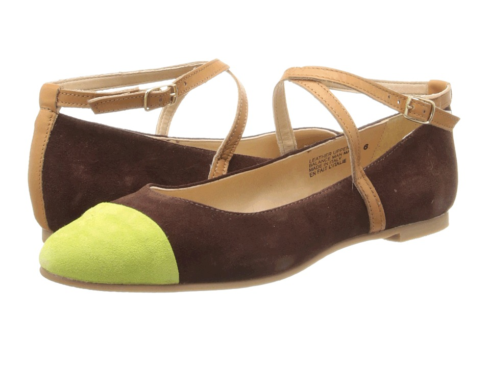Seychelles - Just The Beginning (Brown/Yellow) Women's Shoes
