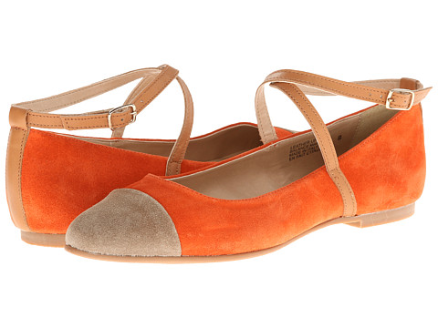 Seychelles - Just The Beginning (Orange/Taupe) Women's Shoes