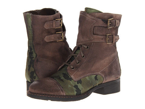 Seychelles - Against The Clock (Taupe/Camo) Women's Lace-up Boots