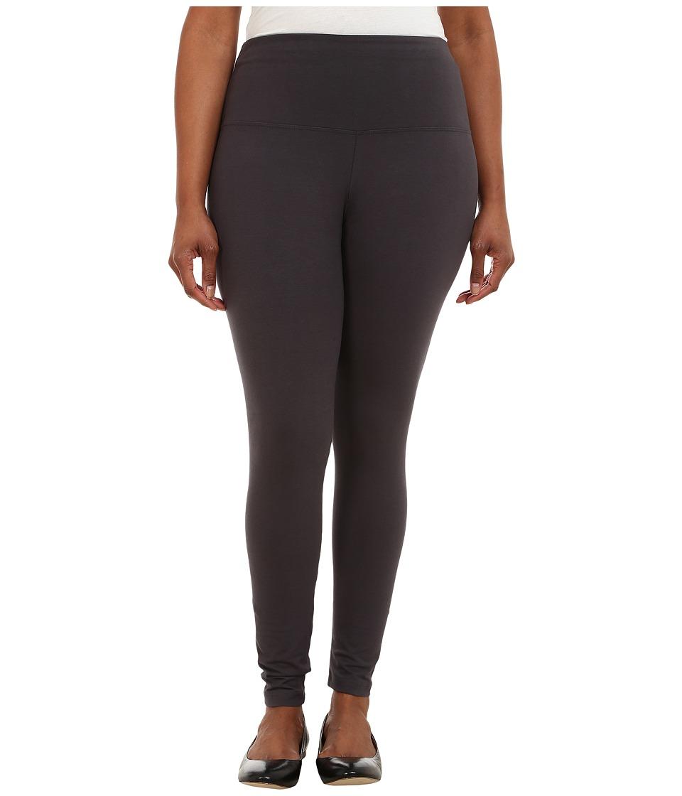 Lysse - Plus Size Tight Ankle Legging 12190 (Graphite) Women