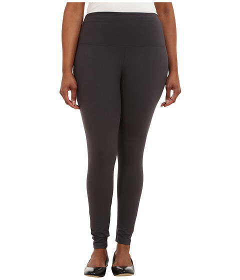 Lysse - Plus Size Tight Ankle Legging 12190 (Graphite) Women