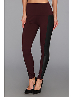 SALE! $34.99 - Save $49 on Lysse Vegan Leather Side Panel Ponte Legging 1504 (Wicked) Apparel - 58.35% OFF $84.00